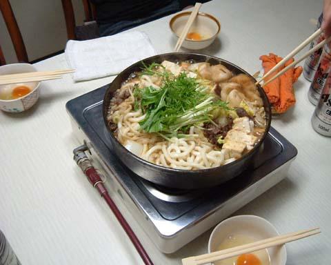 Depiction of Sukiyaki