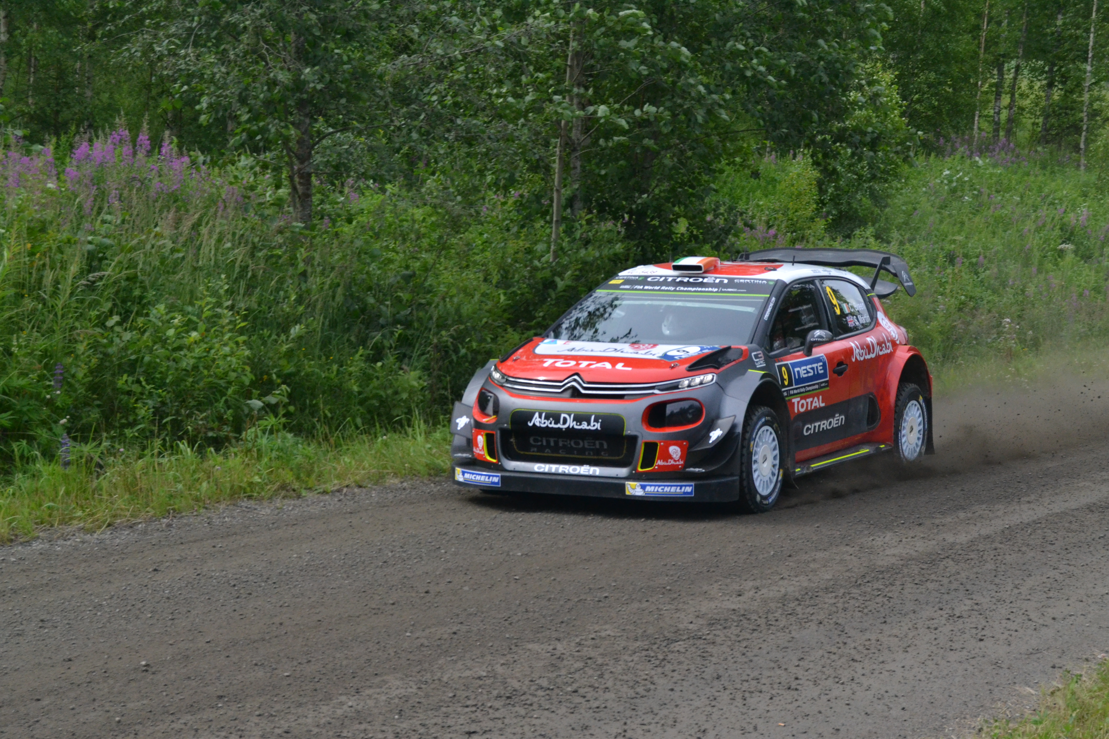 Rallye 5 aout 2017