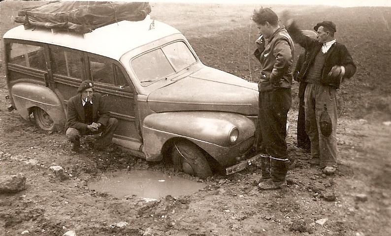 Crosthwaite and Mercury in mine hole greece 1949