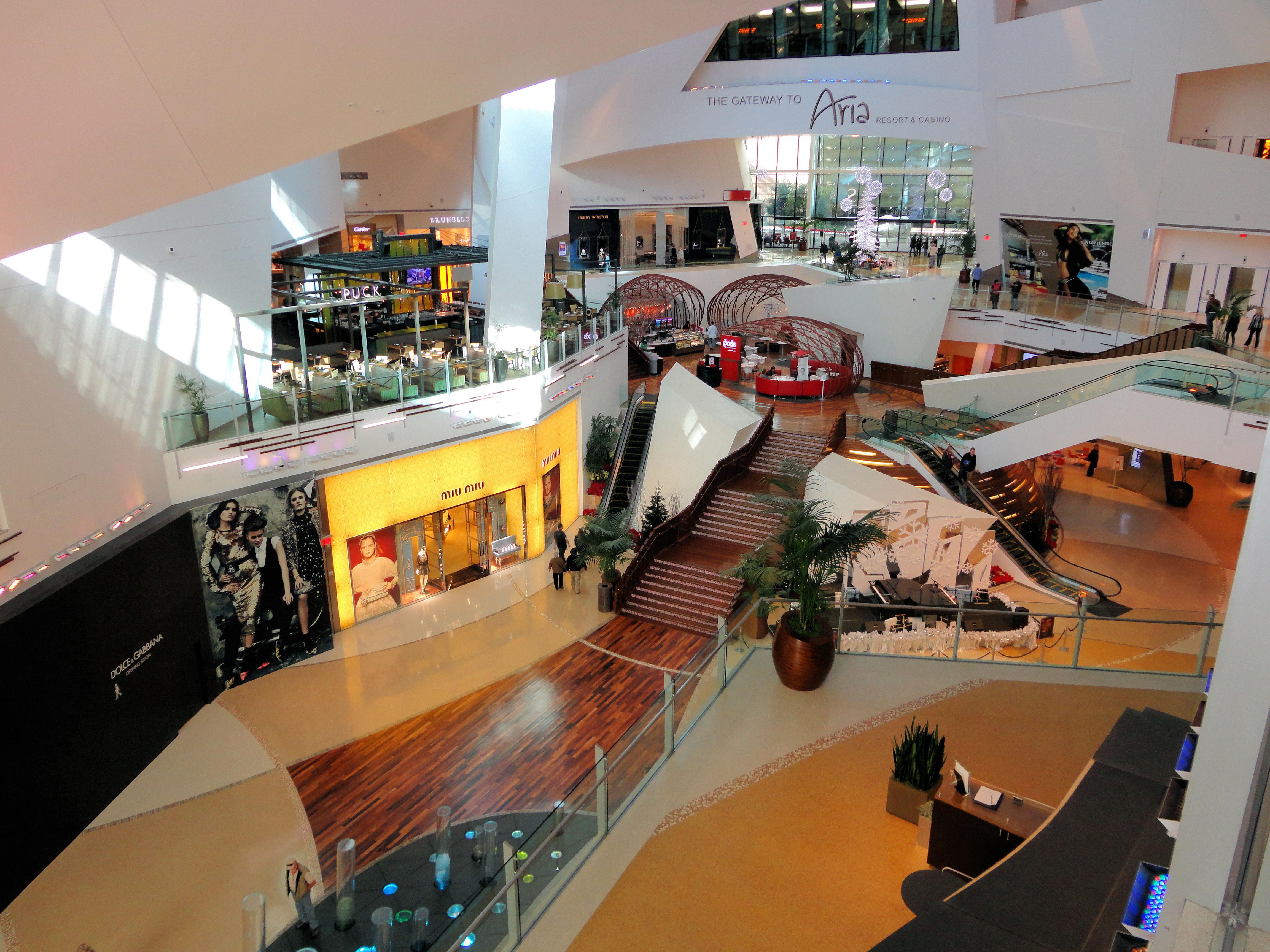 File Crystals Retail And Entertainment City Center Las Vegas Nevada Usa