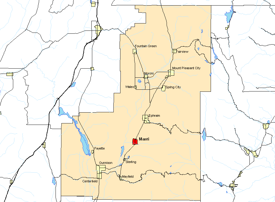 Sanpete County Utah Map.File Ctymapsanpete Png Wikimedia Commons