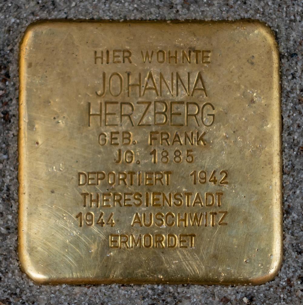 Detmold - 2020-07-14 - Stolperstein Johanna Herzberg (DSC02606).jpg