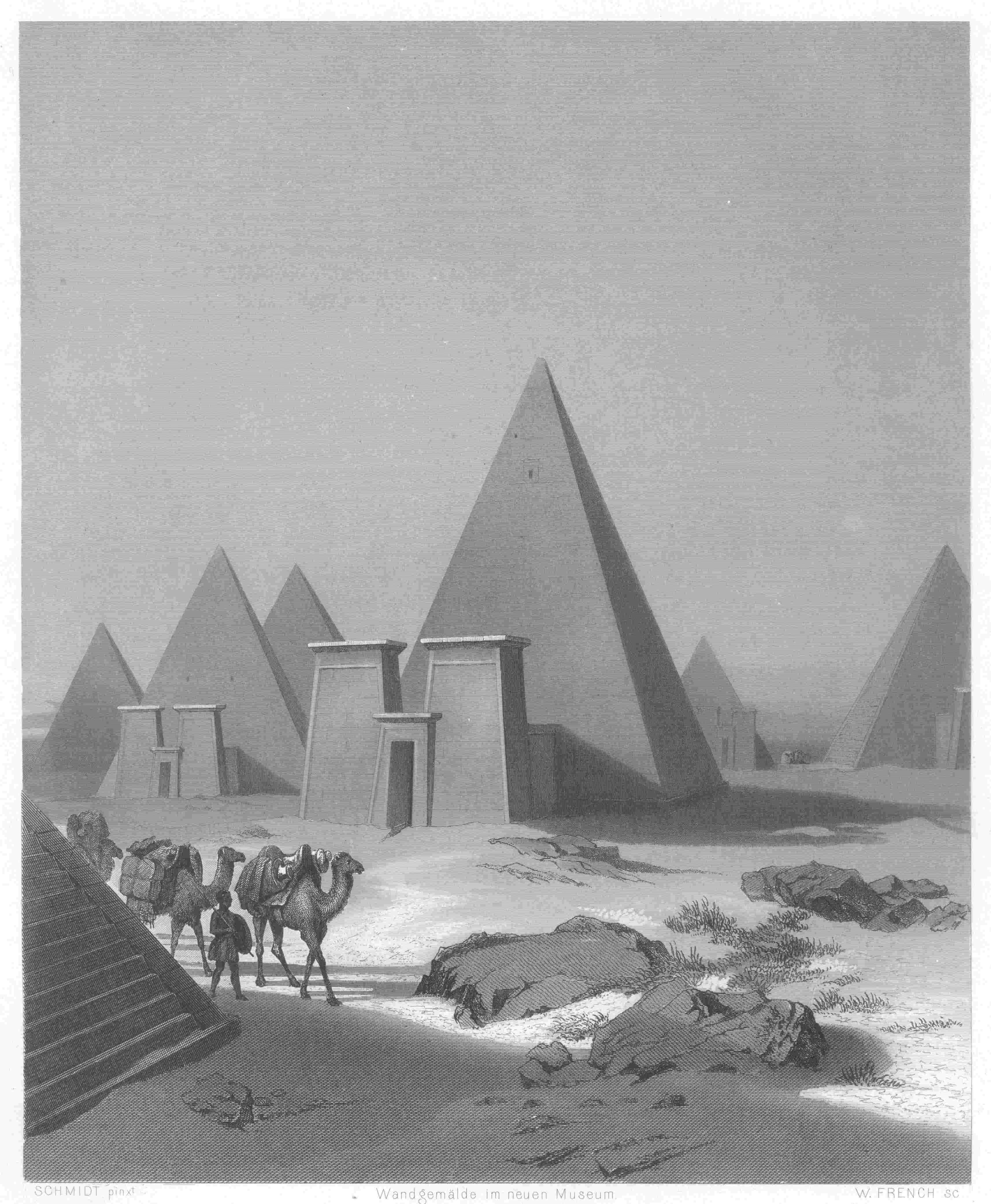 Die_Pyramiden_von_Meroe_French_nach_Schm