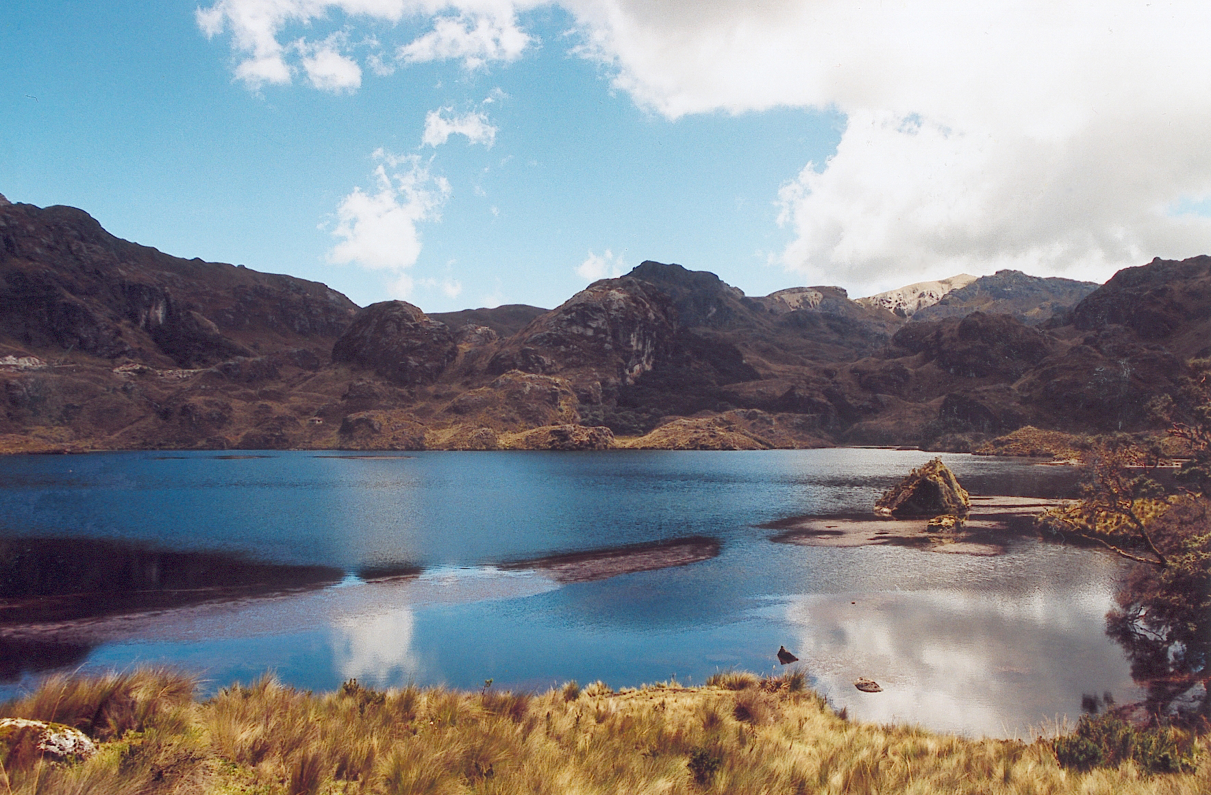 Description Ecuador Cajas National Park
