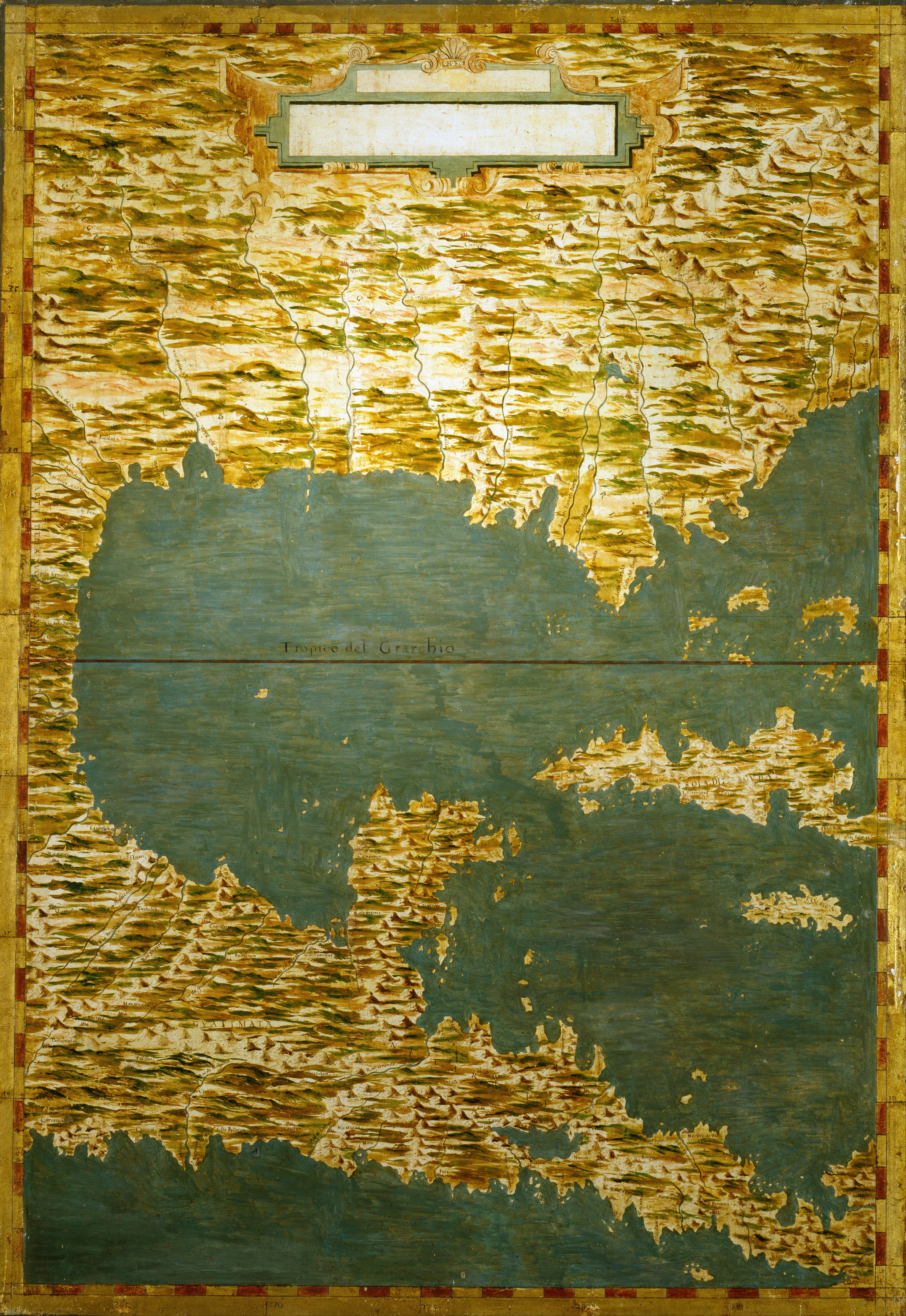 File:Egnazio Danti - Gulf of Mexico, states of Central America, Cuba ...