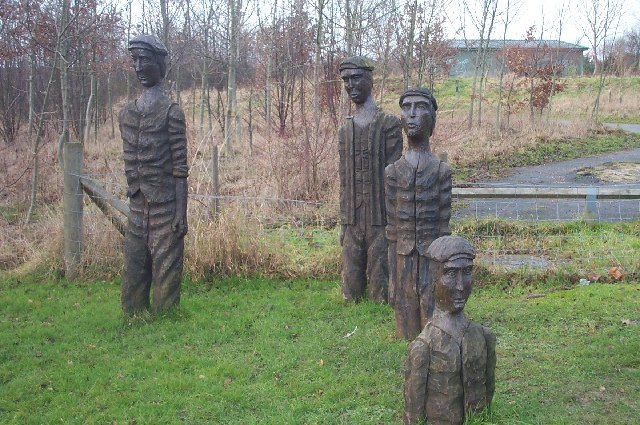 Figures at Brierley Forest Country Park - geograph.org.uk - 103910