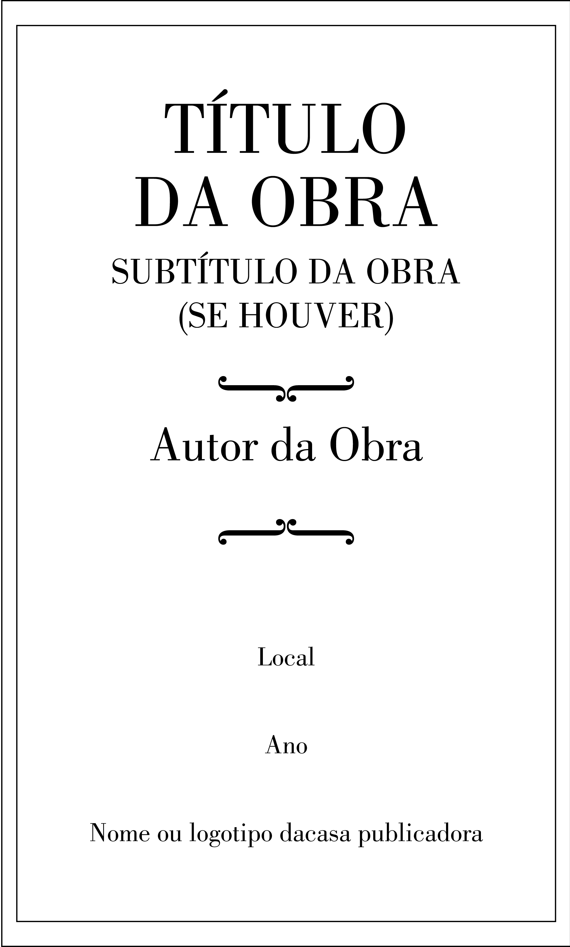 Folha De Rosto Wikipédia A Enciclopédia Livre