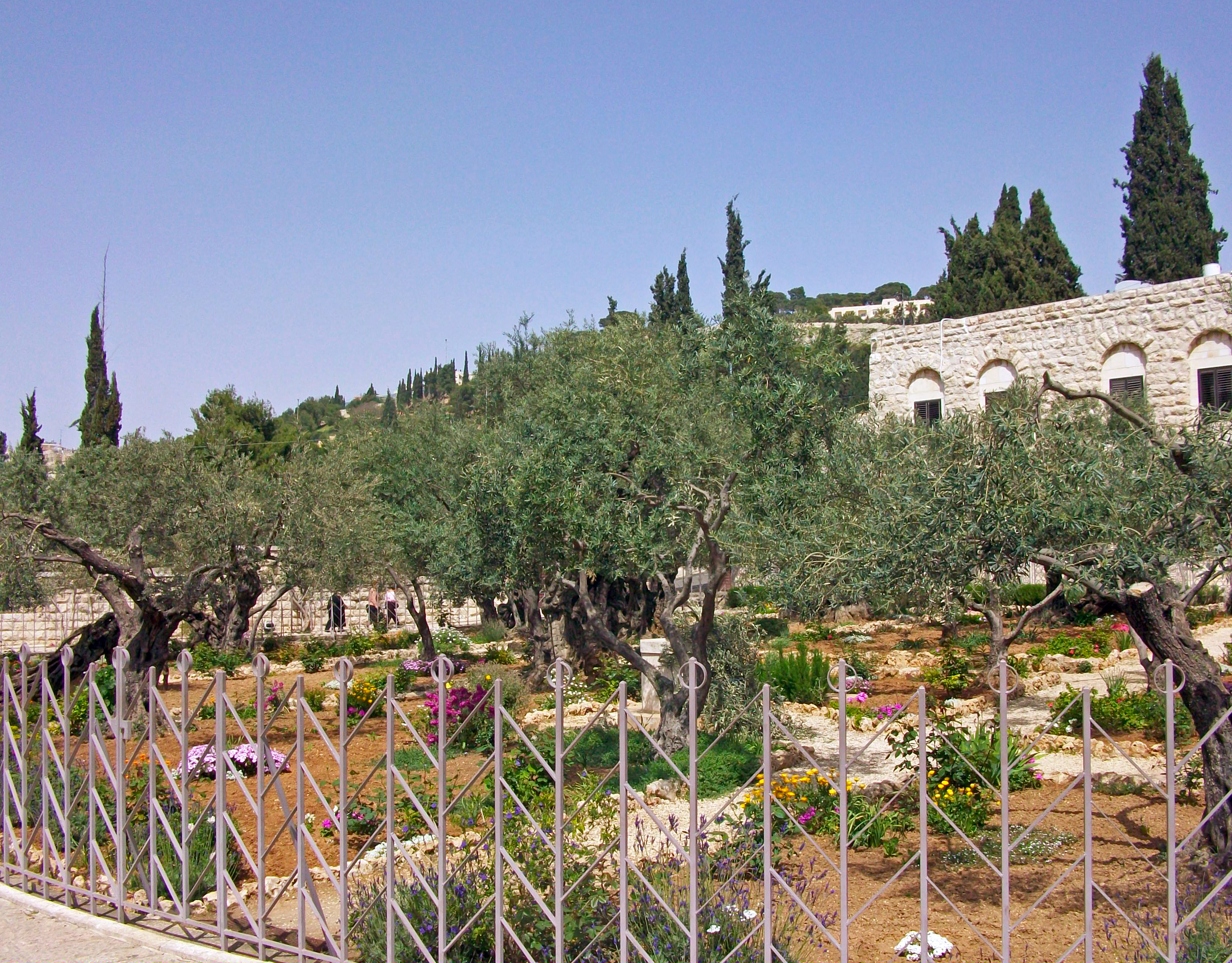 FileGarden of Gethsemane wide view from southwest cornerjpg