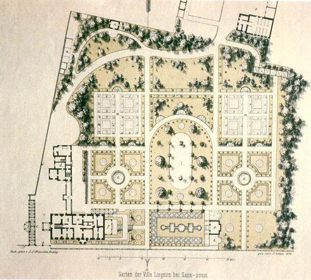 French Country Garden Design Layout: File:Garten Villa Liegnitz In Sanssouci.jpg