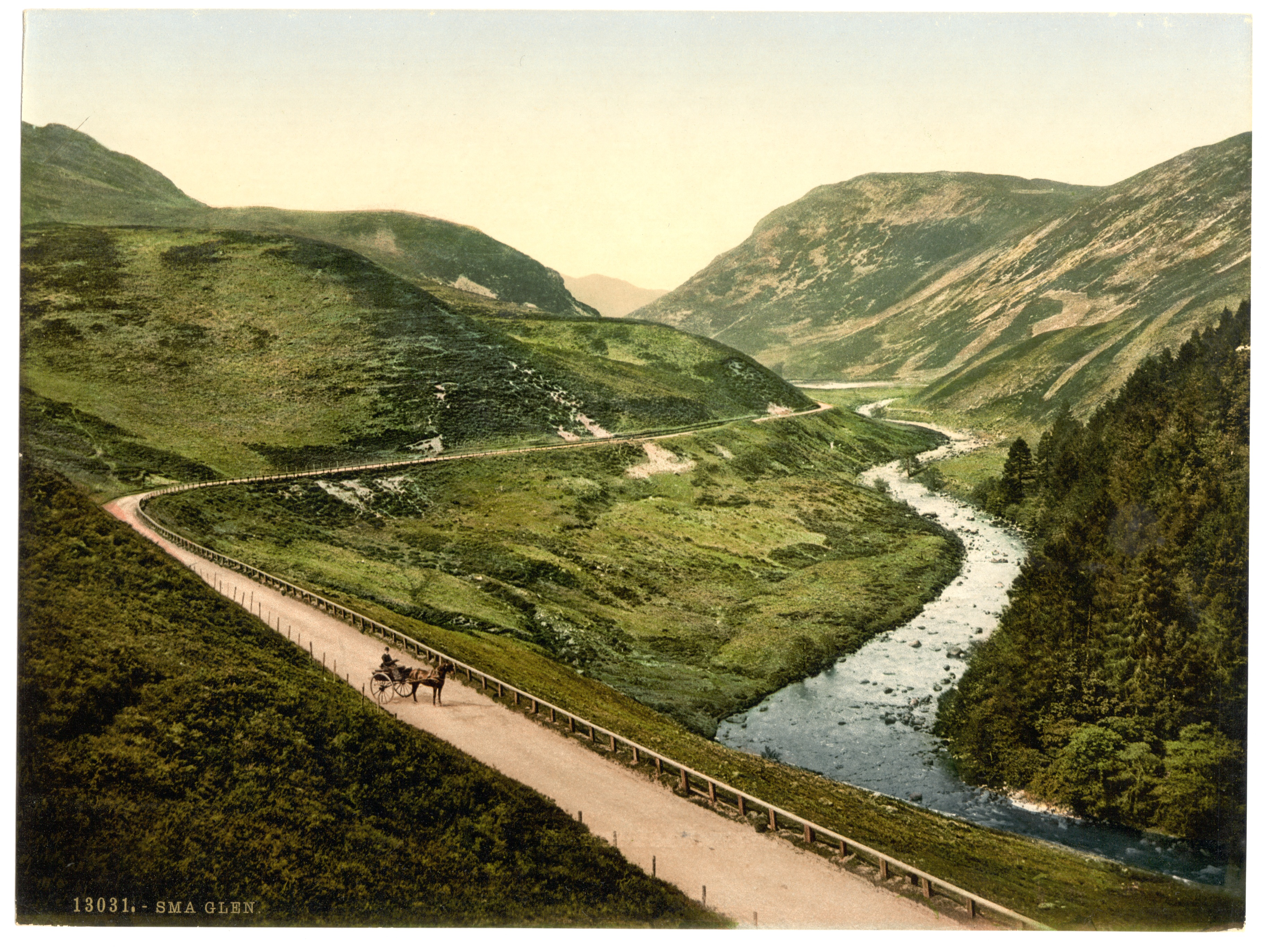 File:General_view,_Sma_Glen_(i.e.,_Sma'),_Scotland LCCN2002695052 on Color By Number
