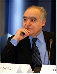 Ghassan Salamé Lebanese political scientist