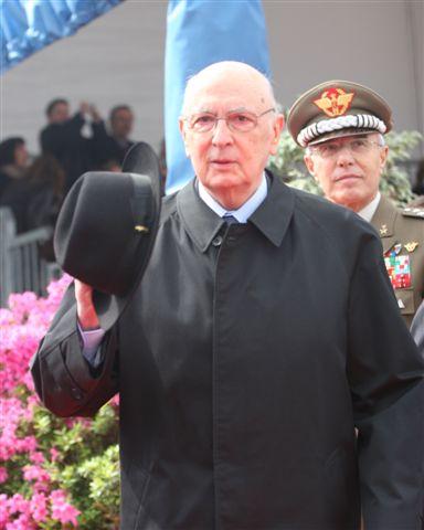 Giorgio Napolitano Größe