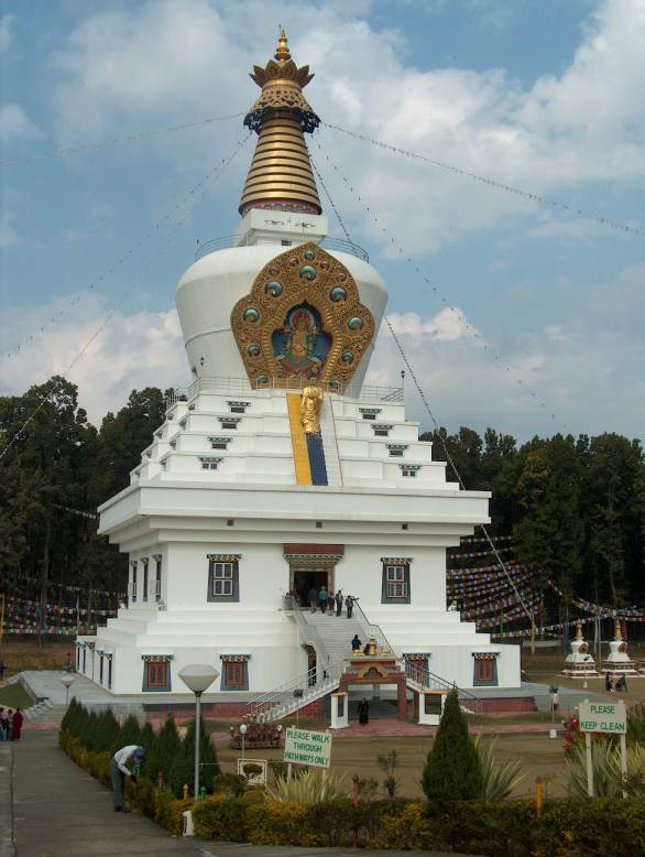 """Great stupa in Mindroling"""