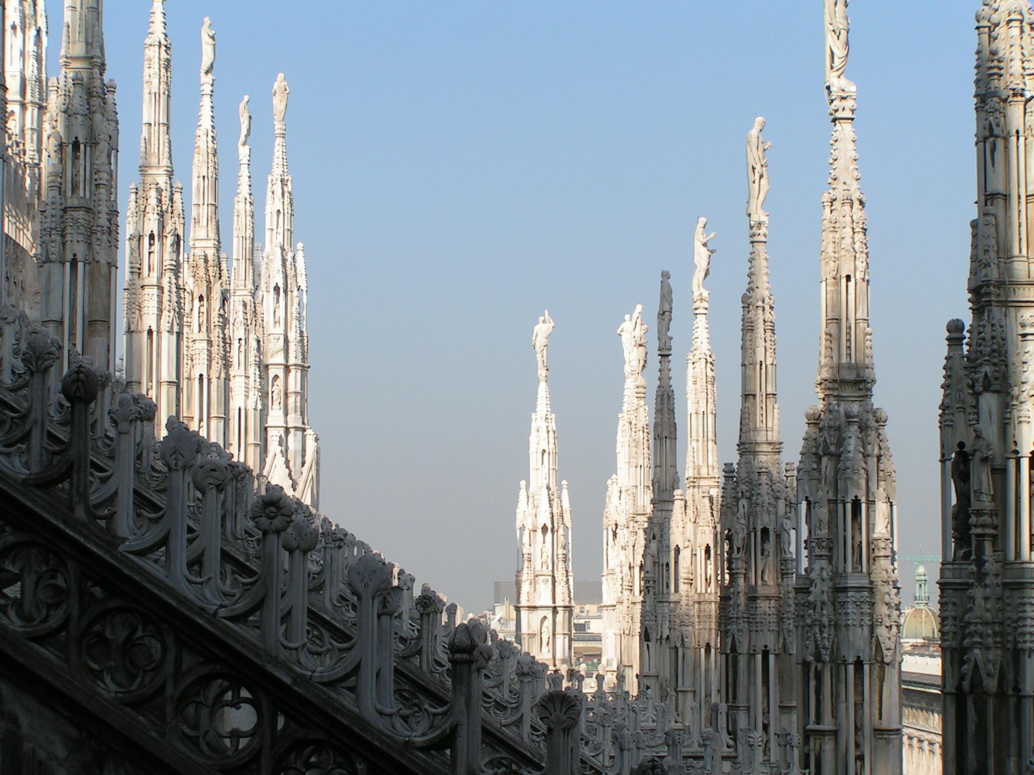 File Guglie Del Duomo Di Milano Panoramio Jpg Wikimedia