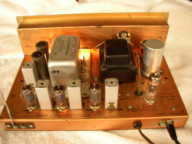 USA. VINTAGE (50,s-80,s) HH_Scott_1956_Model_311-B_FM_Tuner_Top_View_of_Tubes