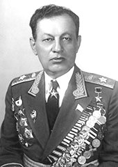 Hamazasp Babadzhanian Chief Marshal of the Armoured Forces