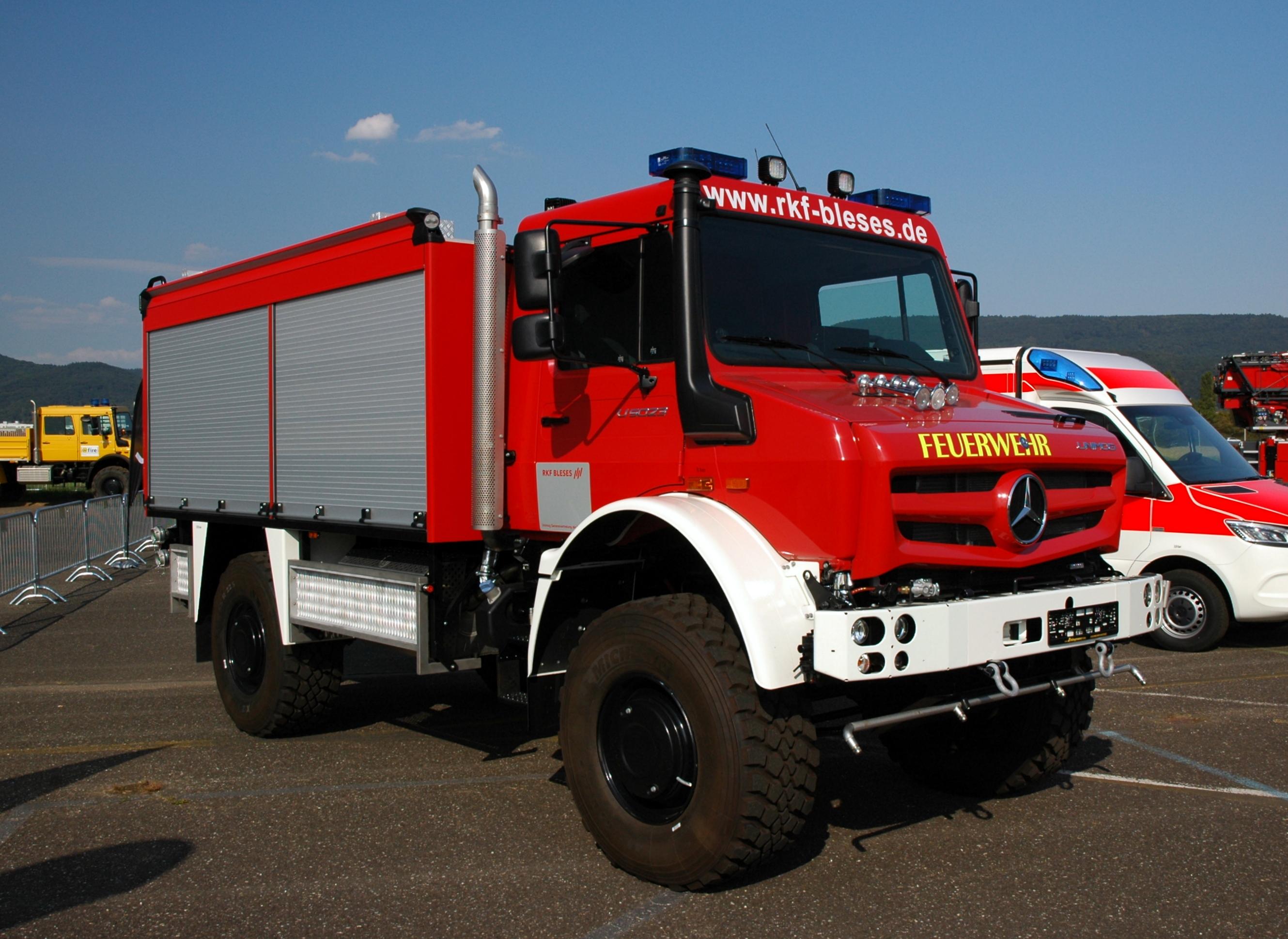 File Heidelberg Airfield Mercedes Benz Unimog U5023 Rkf Bleses