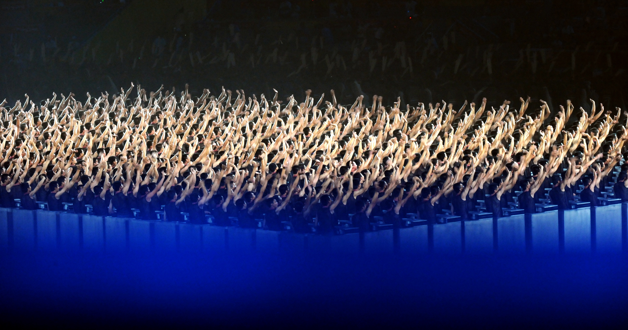 File:Hundreds of Chinese dancers during 2008 Summer Olympics opening ...