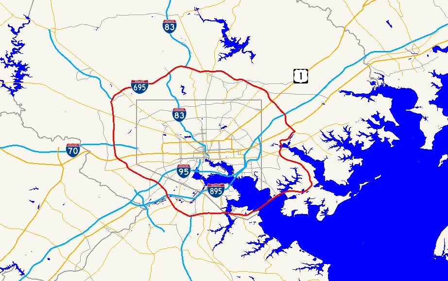 Interstate Maryland Wikipedia - Maryland wikipedia
