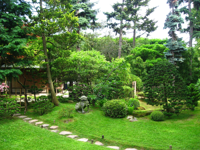 Description jardin du musée albert-kahn.le village japonais 03 by