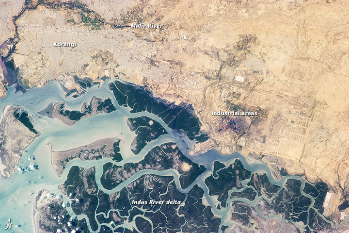 Korangi_and_region,_from_space