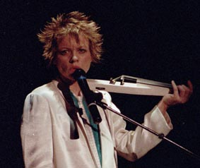 Laurie Anderson, May 1986