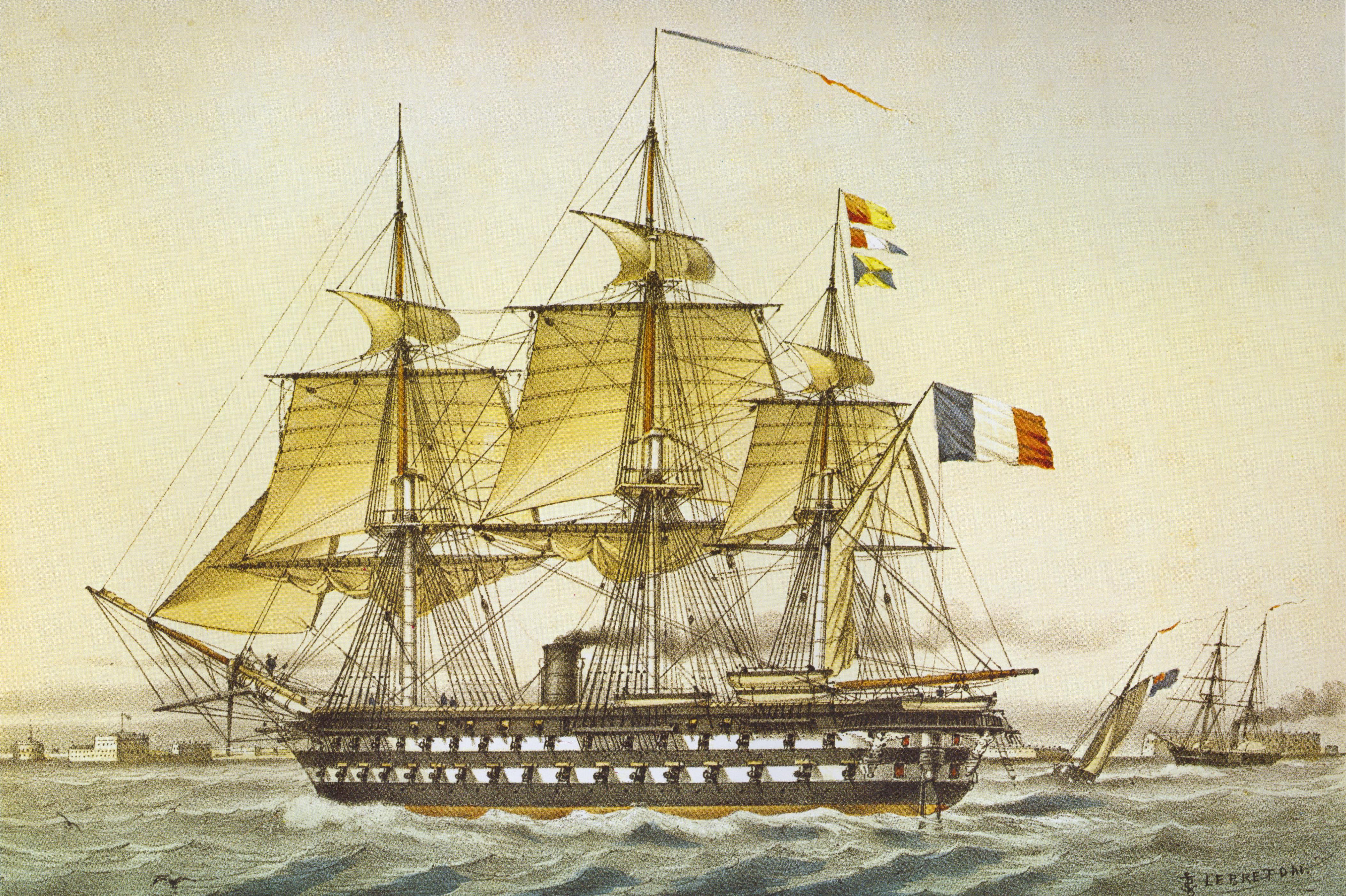 French ship Austerlitz (1852) Wikipedia