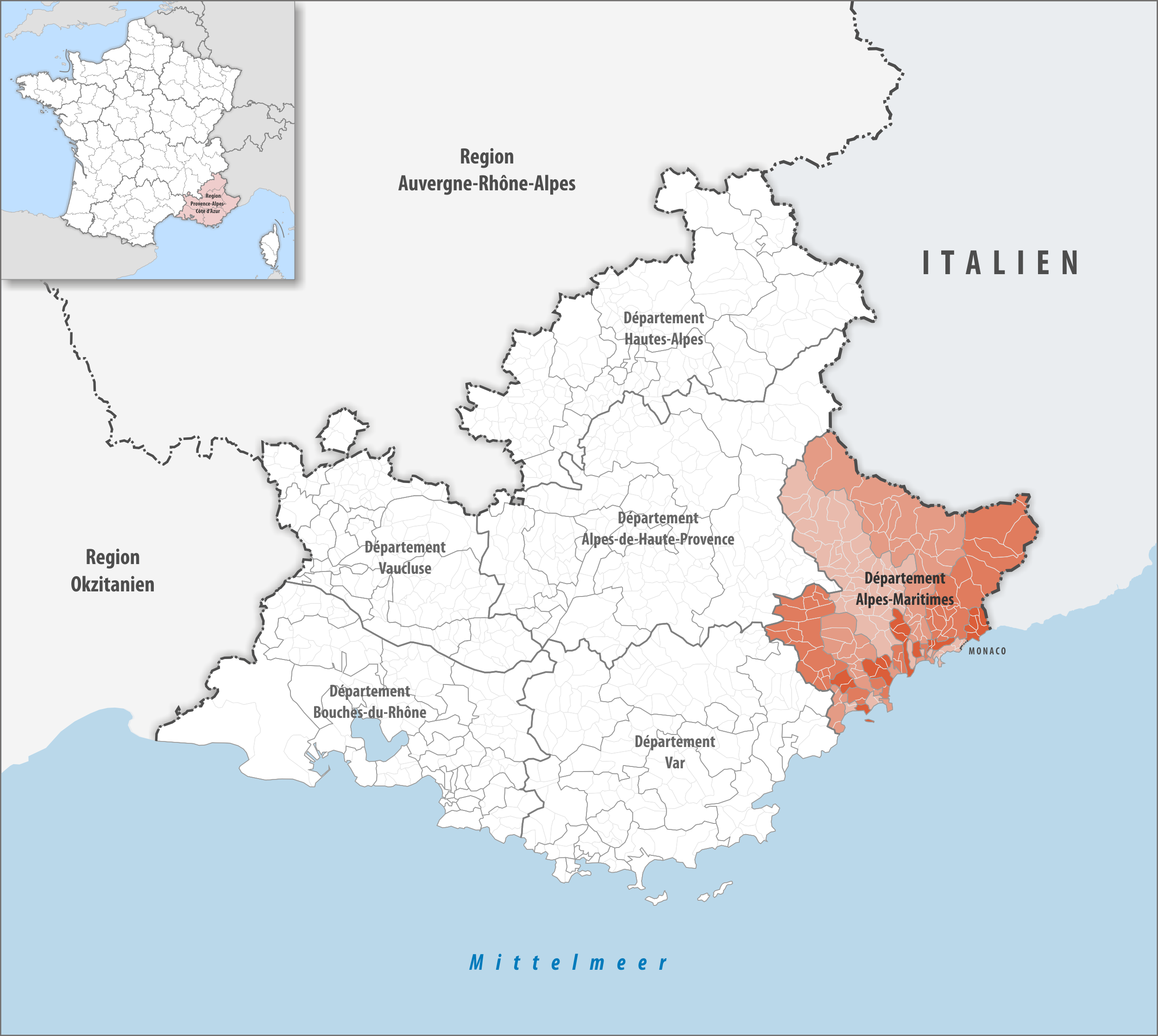 Datei Locator Map Of Departement Alpes Maritimes Png Wikipedia