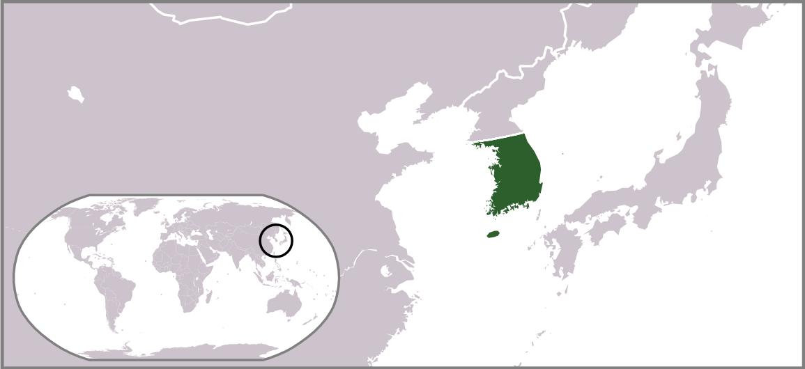 [√] Gouvernement militaire de l'armée des États-Unis en Corée Locator_map_of_South_Korea_1945-50