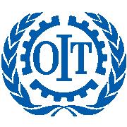 Logo officiel de l'Organisation Internationale de Travail.png