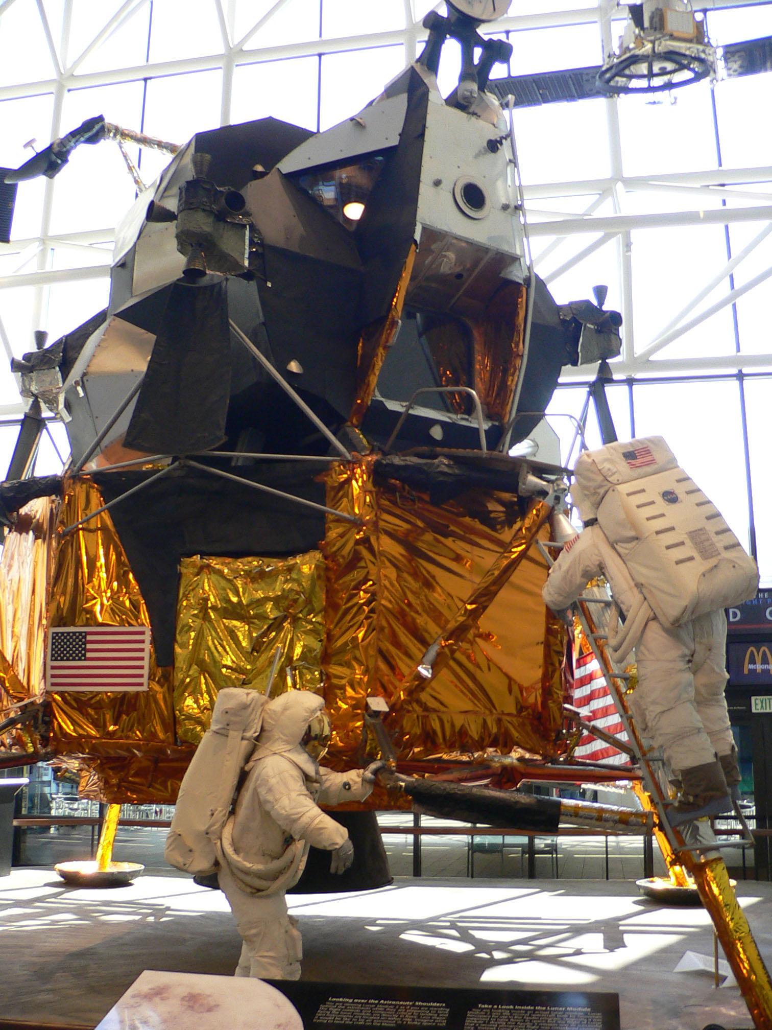 lunar module in space - photo #12