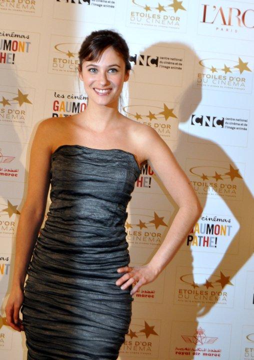 L'actrice aux Étoiles d'Or du Cinéma Français, en 2011   Photo : Wikimedia.