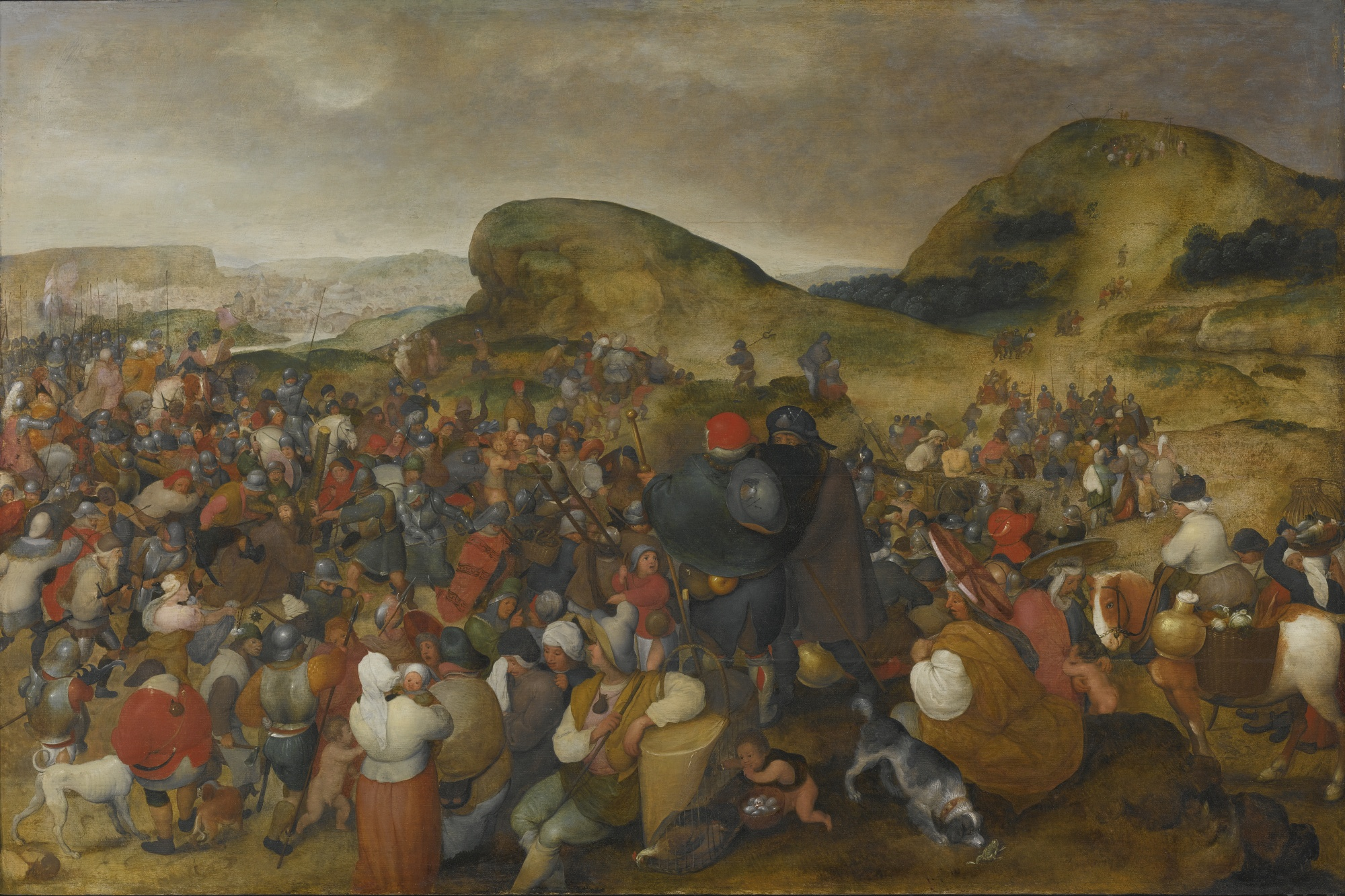 File:MARTEN VAN CLEVE I CHRIST ON THE ROAD TO CALVARY.jpg ...