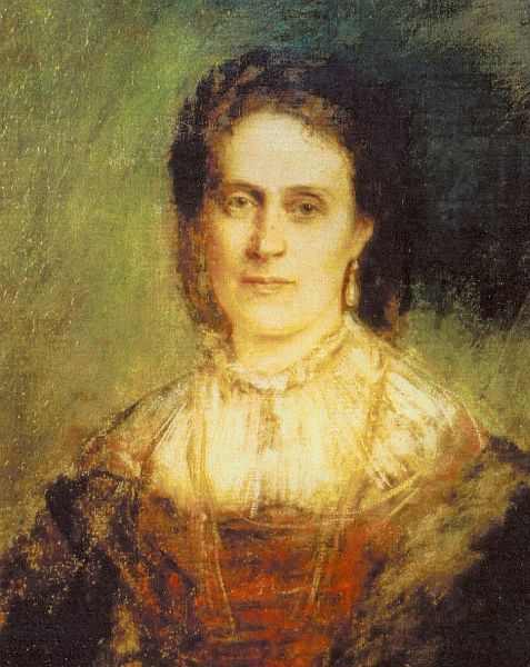 File:Marie Benedict wife of Otto of Faber du Faur-Franz von Lenbach.jpg
