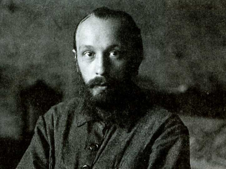 English: Bakhtin in the twenties. Español: Mij...