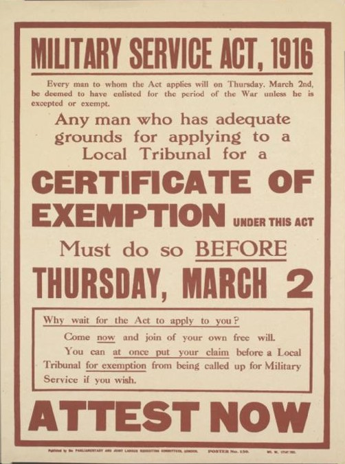 ww1 conscription Conscription, compulsory military service for young men, has been a contentious issue throughout australia's history the defence act 1903 was one of the first pieces of legislation passed.