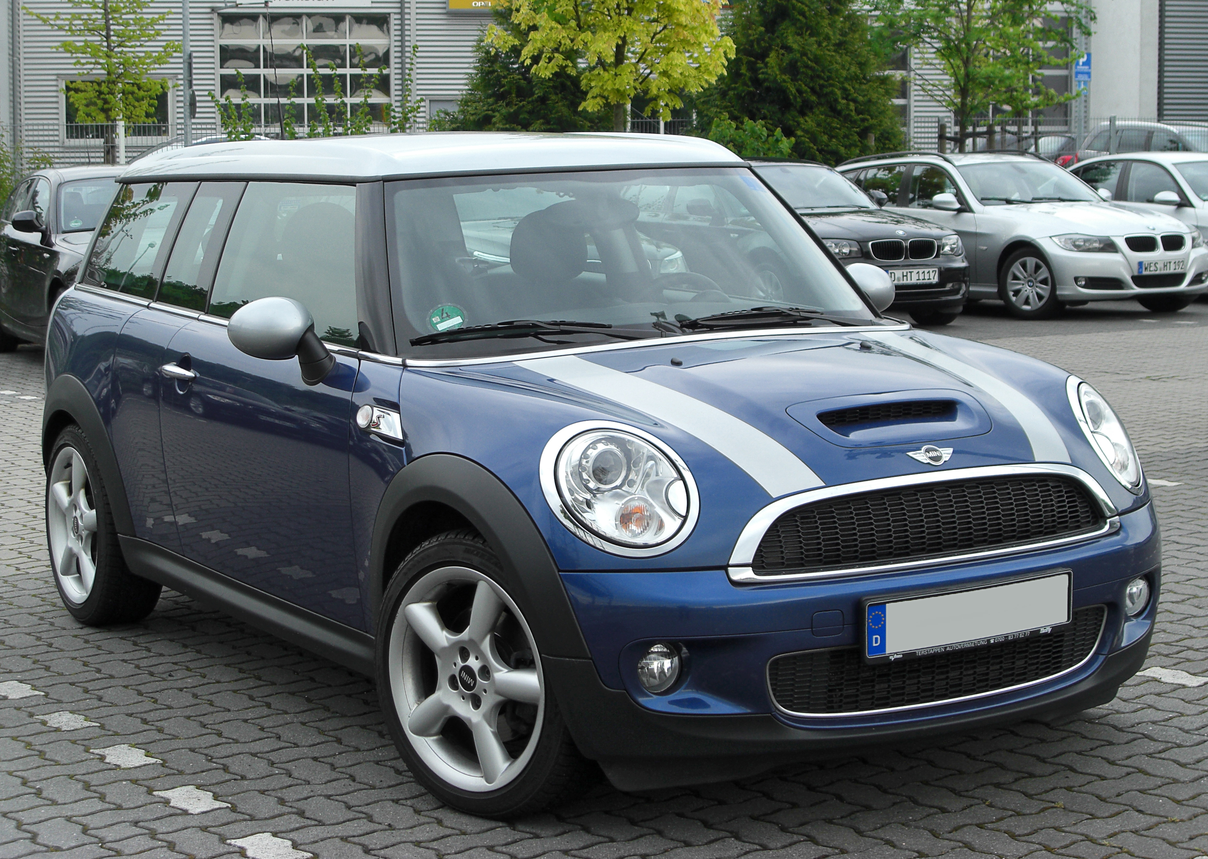 file mini cooper s clubman facelift front. Black Bedroom Furniture Sets. Home Design Ideas
