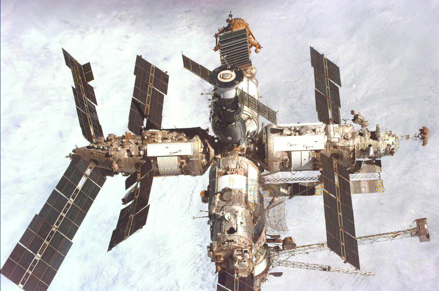 Ein Sinnbild für die Produktivität russischer Wissenschaftler: die Raumstation