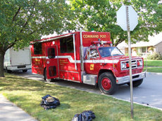 English: A Mississauga Fire and Emergency Serv...
