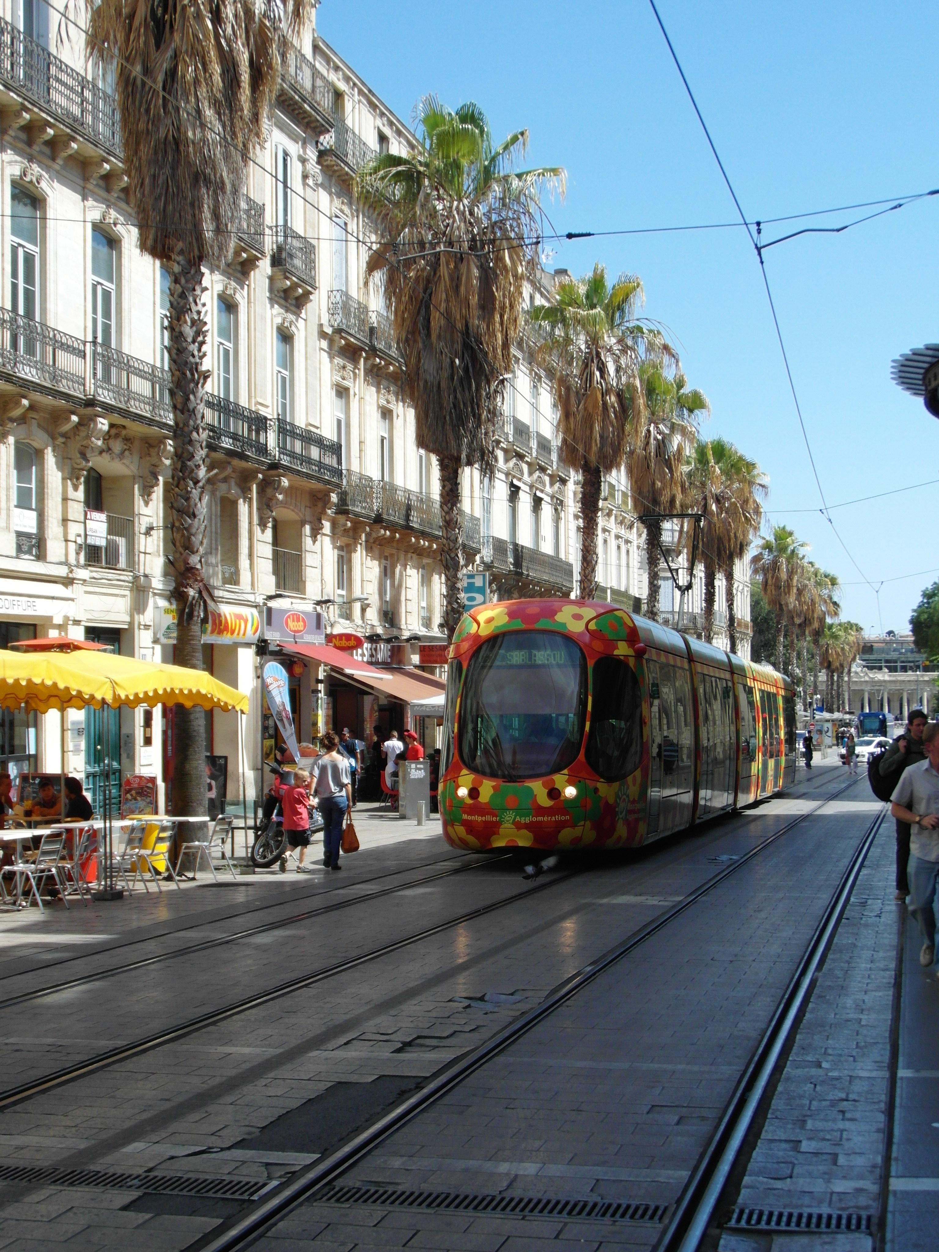 File montpellier tramway centre de la ville for Centre de la nature piscine