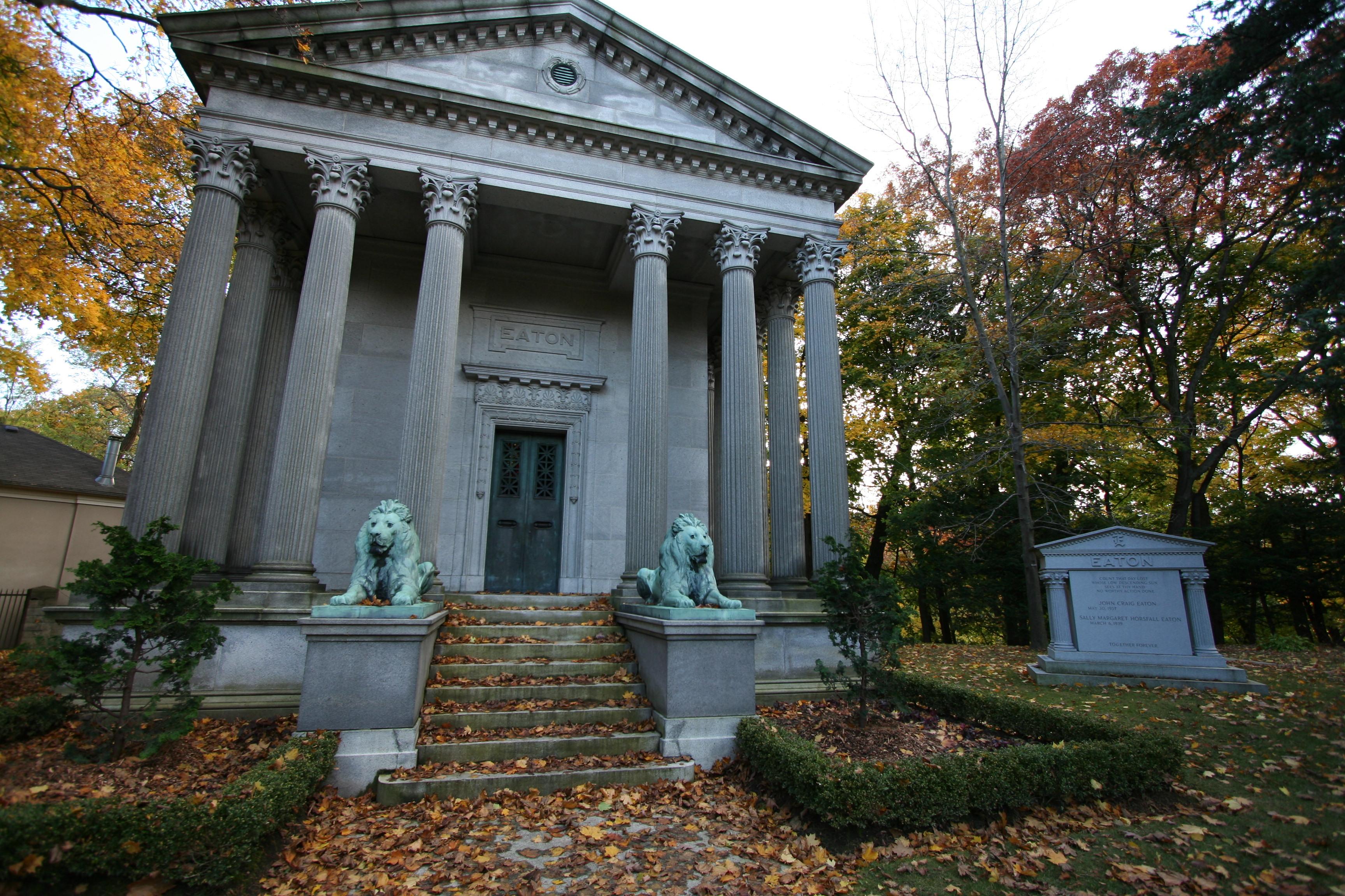 Description Mount Pleasant Cemetery, Eaton, Toronto 3121.JPG