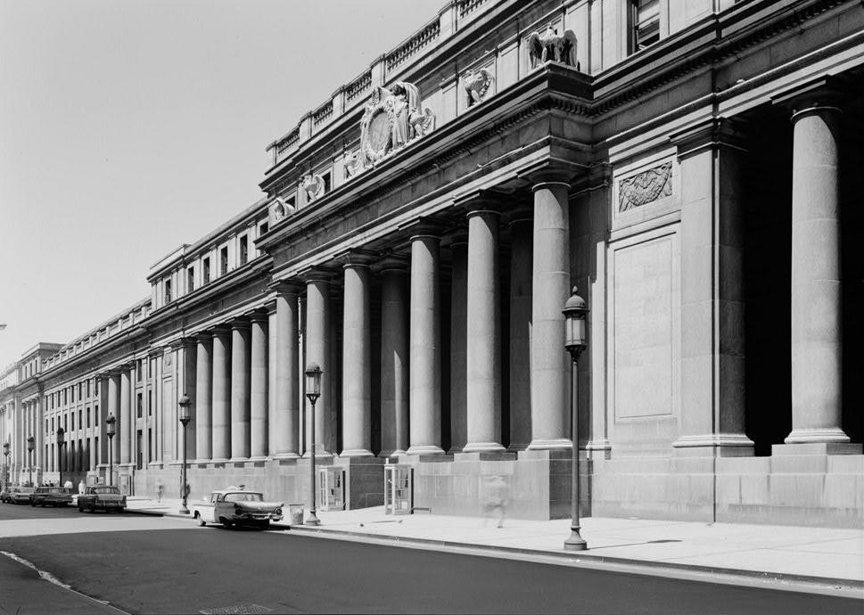 Antigua entrada de Penn Station. Fuente: Wikipedia.
