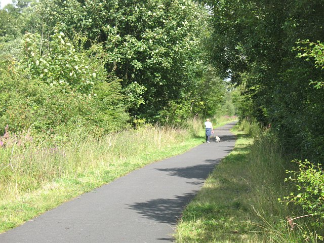 National Cycle Route 7, Barr Castle - geograph.org.uk - 1443065