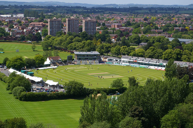 Depiction of Worcestershire County Cricket Club