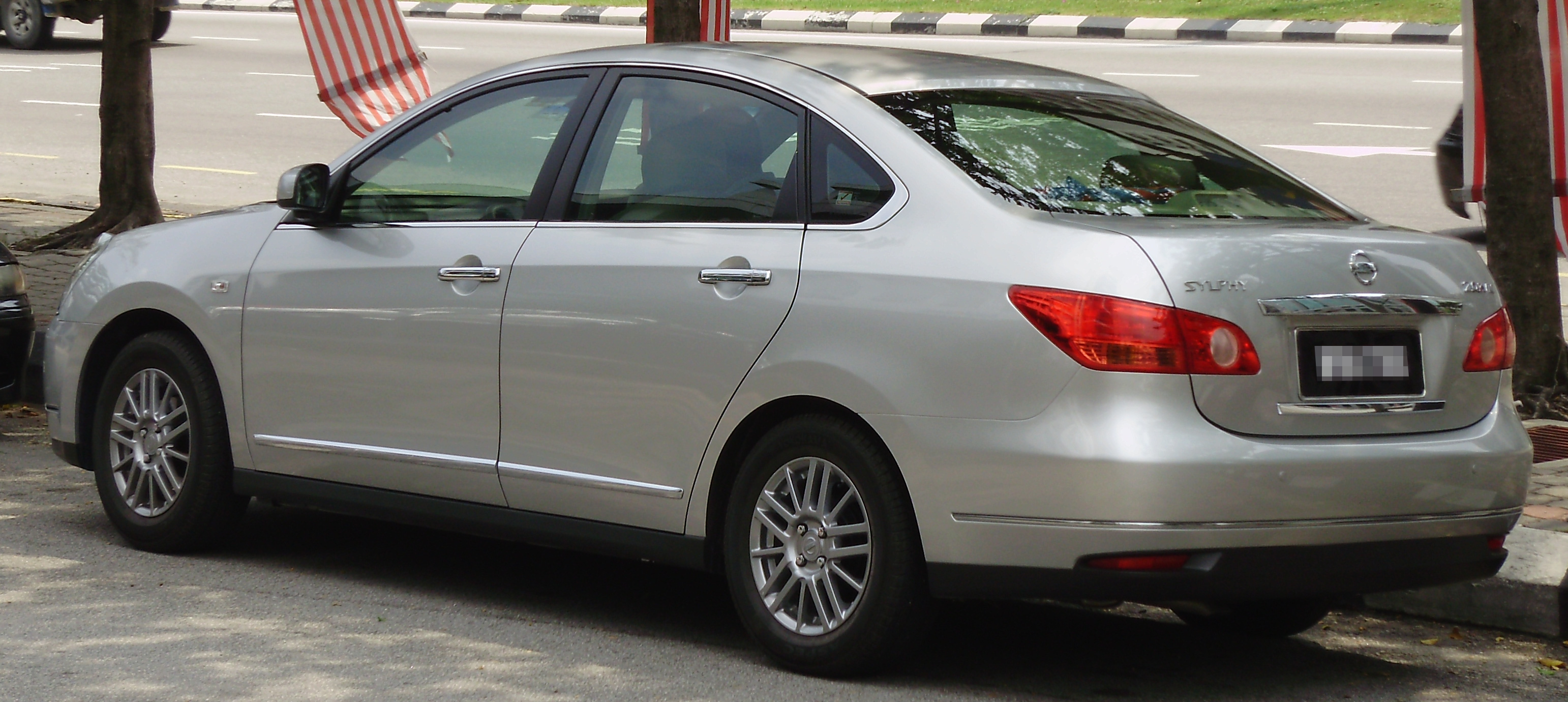 File Nissan Sylphy Second Generation Rear Kuala