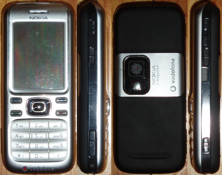 Nokia 6234 bedienungsanleitung