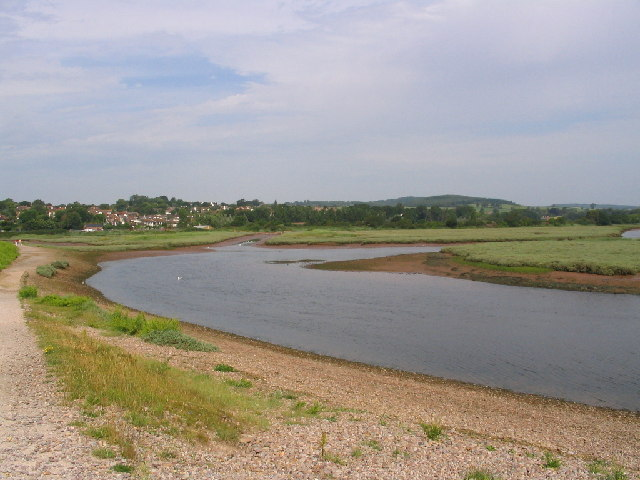 Otter Estuary - geograph.org.uk - 23428
