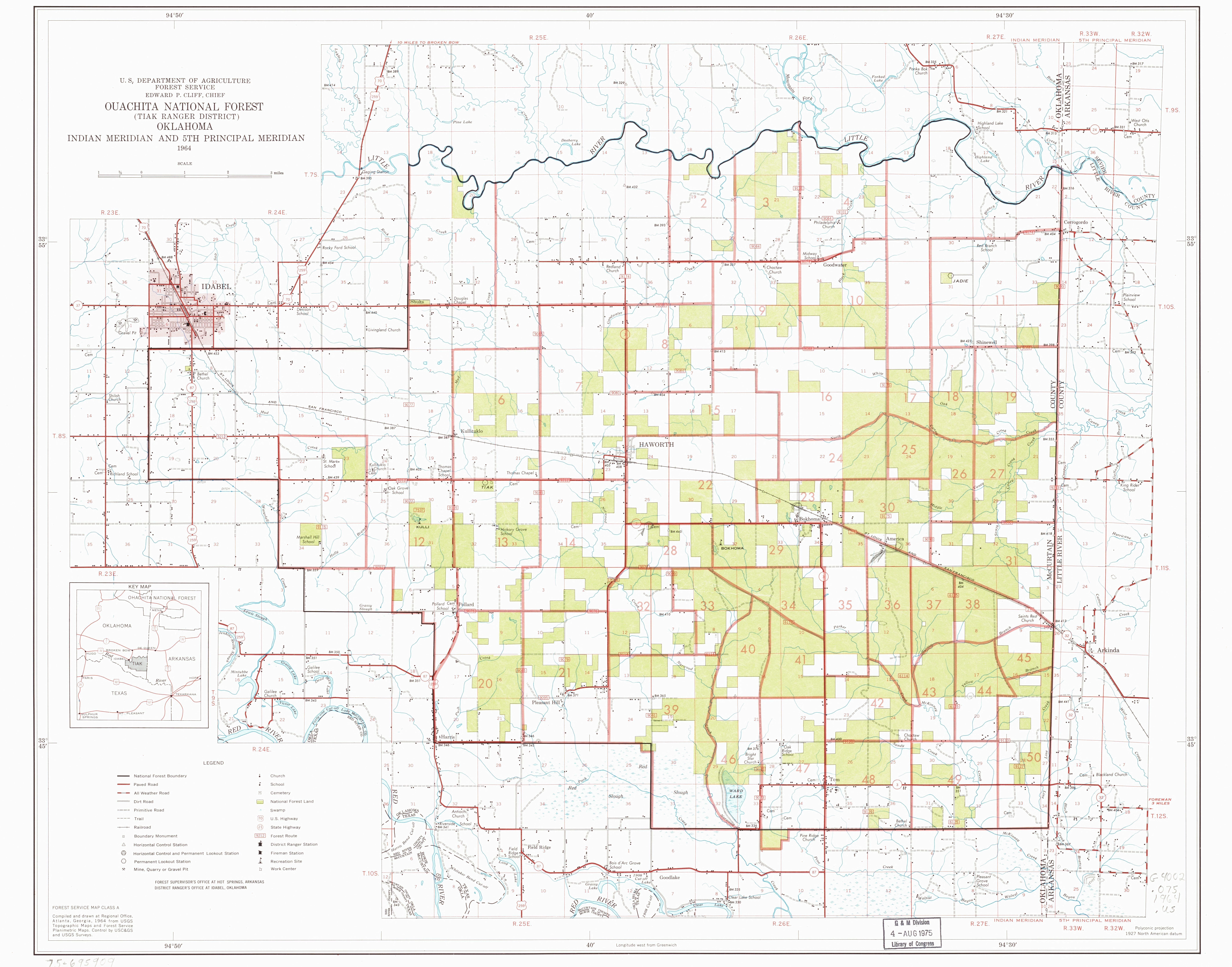 File:Ouachita National Forest (Tiak Ranger District), Oklahoma. LOC ...