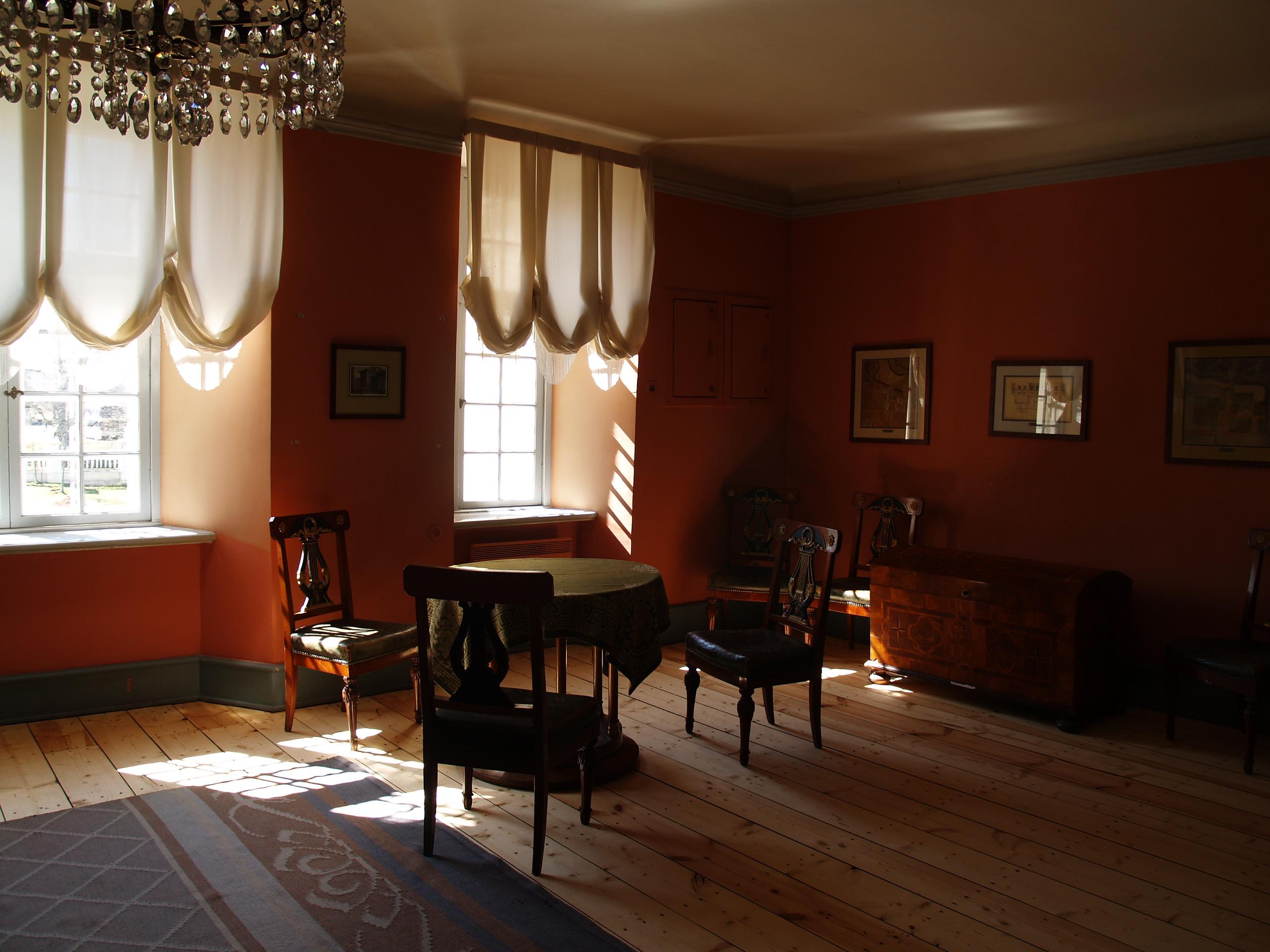 File Palmse Manor Interior Jpg Wikimedia Commons