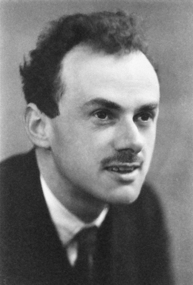 Paul Dirac, 1933